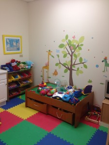 We provide our pediatric patients with a comfortable, fun setting where they can feel at home.